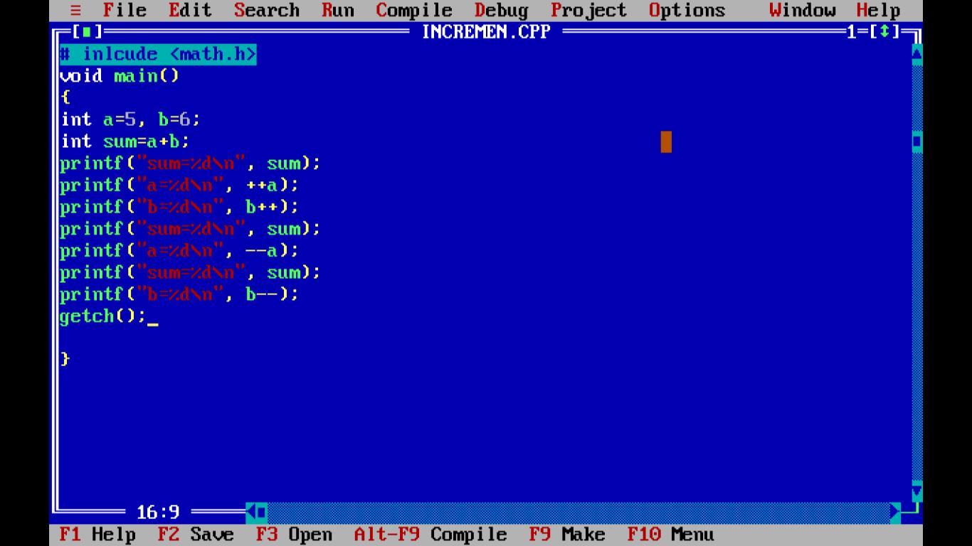 C Operators Wideskills