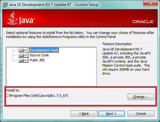 Java SE Development installation image 03