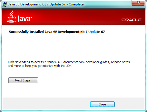 Java SE Development installation image 05
