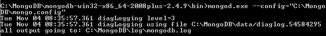 Command to start MongoDB Server