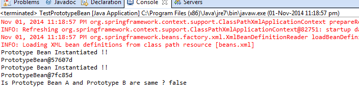 Output of Example program