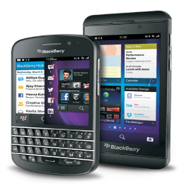 Blackberry mobile Devices